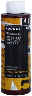 Korres White Tea (Bergamot/Freesia) гель для душу унісекс