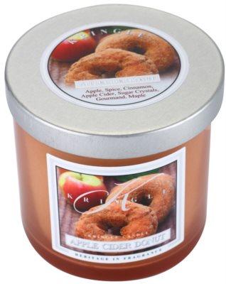 Kringle Candle Apple Cider Donut Gold & Cashmere vela perfumada   pequeño
