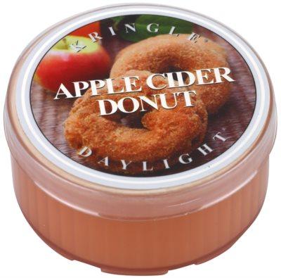 Kringle Candle Apple Cider Donut Gold & Cashmere čajová sviečka