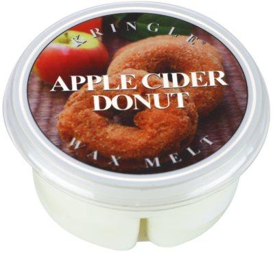Kringle Candle Apple Cider Donut Gold & Cashmere cera derretida aromatizante