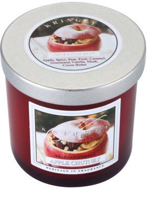 Kringle Candle Apple Chutney illatos gyertya   kicsi