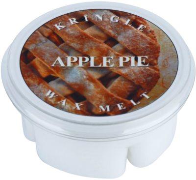 Kringle Candle Apple Pie cera para lámparas aromáticas