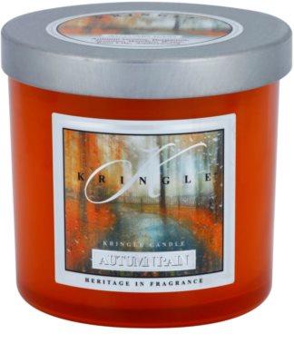 Kringle Candle Autumn Rain dišeča sveča