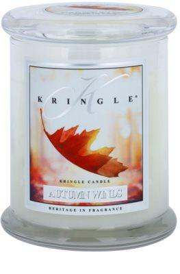 Kringle Candle Autumn Winds illatos gyertya   közepes