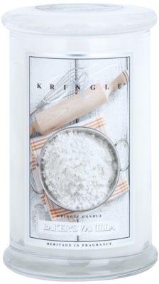 Kringle Candle Baker's Vanilla dišeča sveča