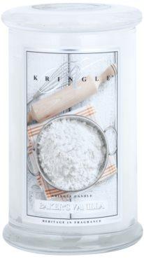 Kringle Candle Baker's Vanilla vonná svíčka