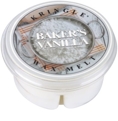 Kringle Candle Baker's Vanilla illatos viasz aromalámpába