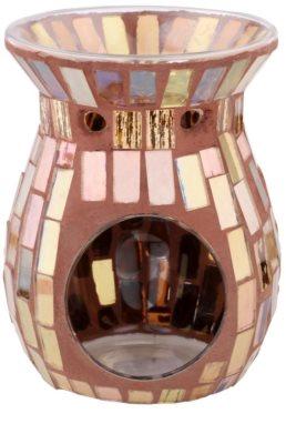 Kringle Candle Brown Mosaic Lâmpadas aromáticas de cerâmica