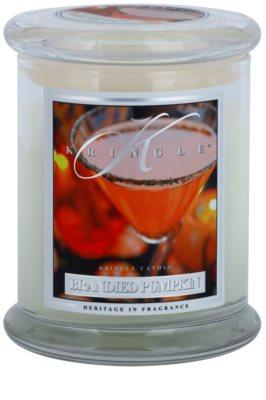 Kringle Candle Brandied Pumpkin illatos gyertya   közepes
