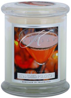 Kringle Candle Brandied Pumpkin vonná svíčka  střední