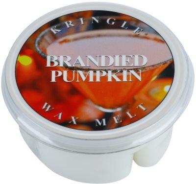 Kringle Candle Brandied Pumpkin cera derretida aromatizante