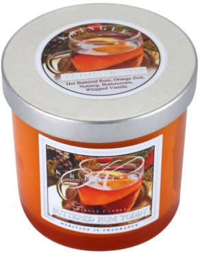 Kringle Candle Buttered Rum Toddy vela perfumado  pequeno