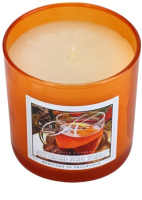 Kringle Candle Buttered Rum Toddy vela perfumado  pequeno 1