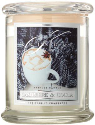 Kringle Candle Cashmere & Cocoa ароматна свещ