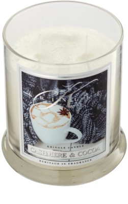 Kringle Candle Cashmere & Cocoa Duftkerze 1