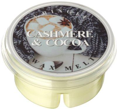 Kringle Candle Cashmere & Cocoa ceară pentru aromatizator