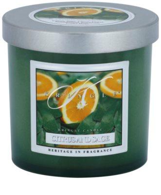 Kringle Candle Citrus and Sage vela perfumado