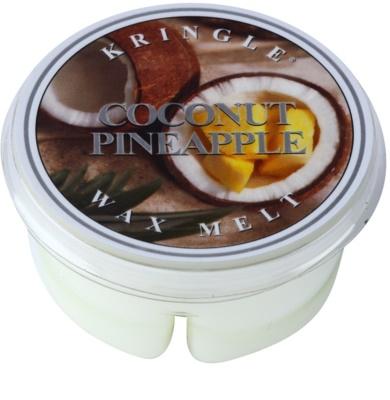 Kringle Candle Coconut Pineapple illatos viasz aromalámpába