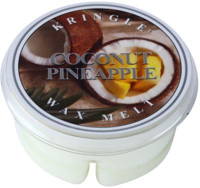 Kringle Candle Coconut Pineapple vosek za aroma lučko