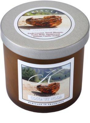Kringle Candle Coconut Wood świeczka zapachowa   mała