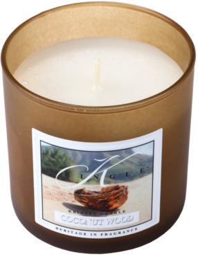 Kringle Candle Coconut Wood lumanari parfumate   mic 1