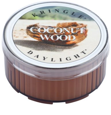 Kringle Candle Coconut Wood vela de té