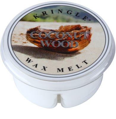 Kringle Candle Coconut Wood cera para lámparas aromáticas
