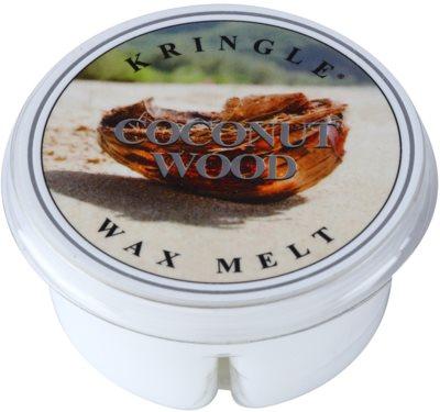 Kringle Candle Coconut Wood vosek za aroma lučko