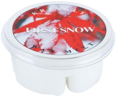 Kringle Candle First Snow vosek za aroma lučko