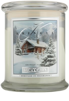 Kringle Candle Cozy Cabin illatos gyertya