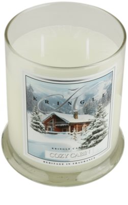 Kringle Candle Cozy Cabin illatos gyertya 1