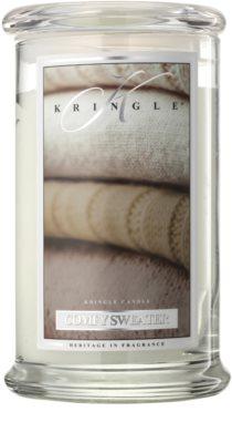 Kringle Candle Comfy Sweater świeczka zapachowa