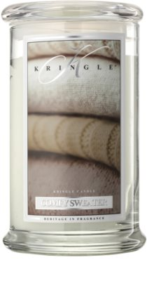 Kringle Candle Comfy Sweater vela perfumado
