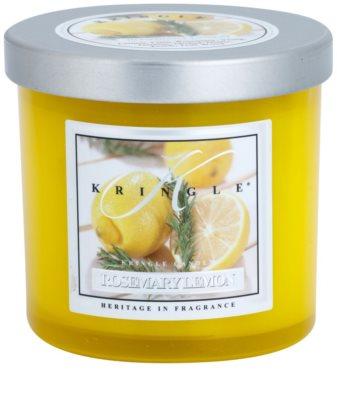 Kringle Candle Rosemary Lemon illatos gyertya