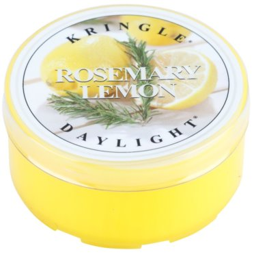 Kringle Candle Rosemary Lemon Teelicht