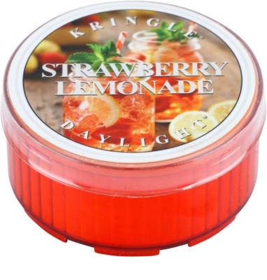 Kringle Candle Strawberry Lemonade vela de té