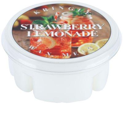 Kringle Candle Strawberry Lemonade cera derretida aromatizante