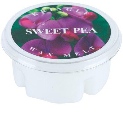 Kringle Candle Sweet Pea vosek za aroma lučko