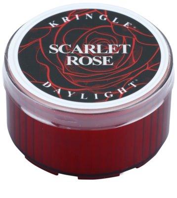 Kringle Candle Scarlet Rose čajová svíčka