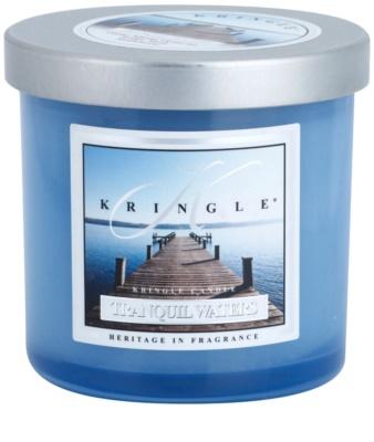 Kringle Candle Tranquil Waters dišeča sveča