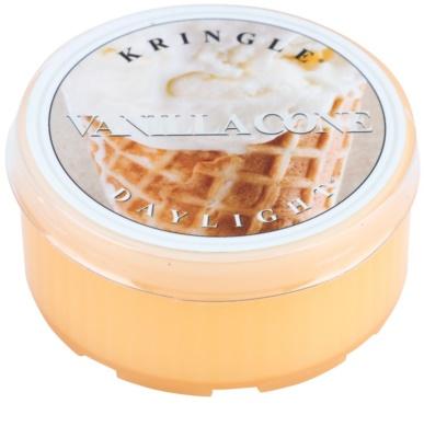 Kringle Candle Vanilla Cone vela de té