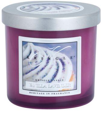 Kringle Candle Vanilla Lavender vela perfumado