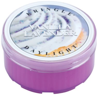 Kringle Candle Vanilla Lavender čajová sviečka