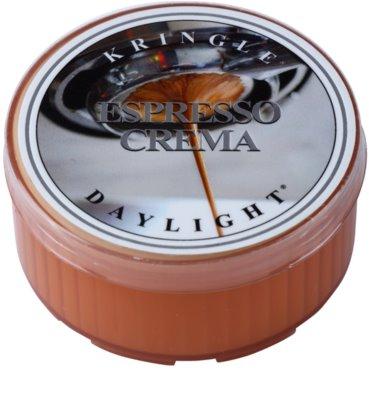 Kringle Candle Espresso Crema teamécses