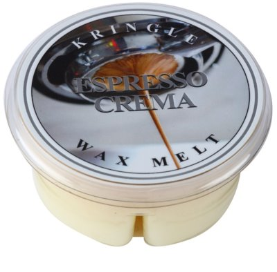 Kringle Candle Espresso Crema cera derretida aromatizante
