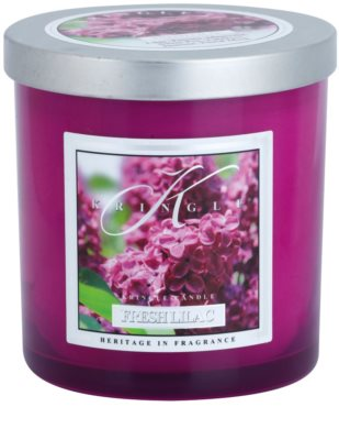 Kringle Candle Fresh Lilac illatos gyertya