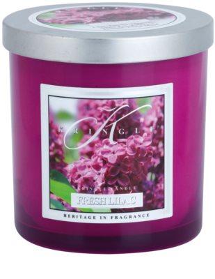 Kringle Candle Fresh Lilac ароматна свещ