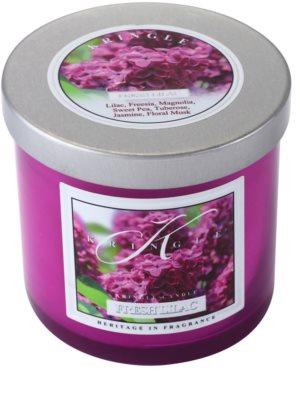 Kringle Candle Fresh Lilac świeczka zapachowa   mała