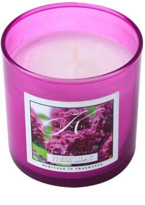 Kringle Candle Fresh Lilac vela perfumada   pequeño 1