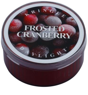 Kringle Candle Frosted Cranberry čajová svíčka